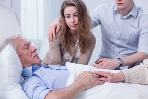 Man in hospice care facility, Does Medicare Cover Long Term Care, Long Term Assurance