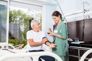 Man in long term care hospital, Does Medicare Cover Long Term Care, Long Term Assurance